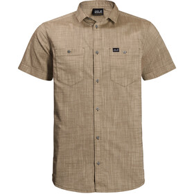 Jack Wolfskin Emerald Lake T-shirt Homme, sand dune